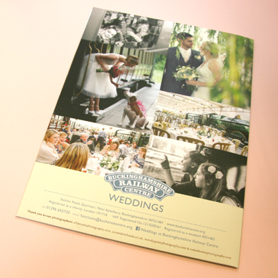 A4 wedding folder